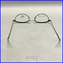 Jean Lafont L70 48-19-135 Green Tortoise Designer Eyeglass Vintage French Frames