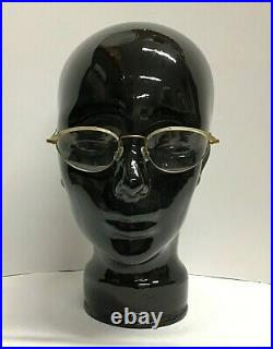 Jean Lafont L-70 48-19-135 Gold Tortoise Designer Eyeglass Vintage French Frames