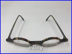Jean Lafont Vintage Eyeglasses France Genie 48mm Horn Marble PB53