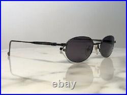 Jean Paul Gaultier Sunglasses Glasses Frame Titanium Gunmetal 58-8103