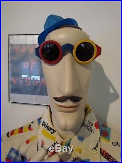 Karl Lagerfeld Archived 1985 Colorblocking Supreme Multicolor Chanel Sunglasses