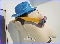 Karl Lagerfeld Chanel Fendi Chloe Rare Vtg 85 Spectacles 0971/2000 Opticals Made