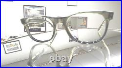 L A Eyeworks eyeglasses THE BEAT 4 986 made France VIntage early 1980s