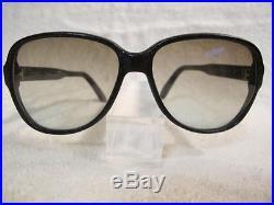Leather Zyl PIERRE CARDIN France SUNGLASSES Vintage NOS LEZARD Retro Frames (L2)