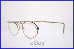 LesPuces Gouverneur Audigier Vintage Oval Eyeglasses France 50mm Graphicus Antiq