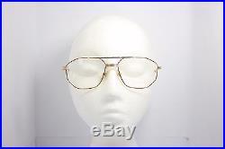 Loris Azzaro Intense 05 56mm 18-K Gold Silver Havana Eyewear Eyeglass Frames