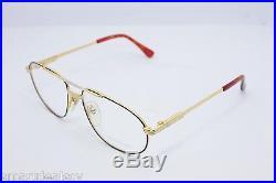 Loris Azzaro Intense 06 19 58mm 18-K Gold Black Eyewear Eyeglass Frames