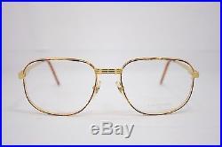 Loris Azzaro Intense 17 01 56mm 18-K Gold Havana Eyewear Eyeglass Frames
