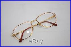 Loris Azzaro Intense 200 01 54mm 18-K Gold Havana Eyewear Eyeglass Frames