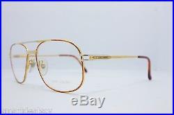 Loris Azzaro Intense 210 01 56mm 18-K Gold Tortuga Eyewear Eyeglass Frames