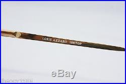 Loris Azzaro Intense 24 01 56mm 18-K Gold Tortuga Eyewear Eyeglass Frames
