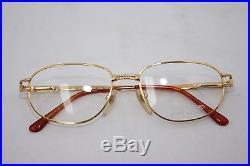 Loris Azzaro Intense 31 18 55mm 18-K Gold Eyewear Eyeglass Frames