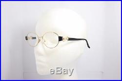 Loris Azzaro Ohlala 1 70 Paris Gold Vintage eyeglasses 54mm Rare Gold plated
