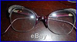 Lot of 3Vintage Pointy Rhinestone Cat Eye Glasses cateye eyeglasses france