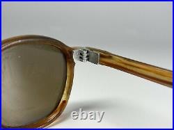 Lunette Ancienne Crown Panto French Frame Eyeglasses Vintage Acetate Sun Old