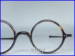 Lunette Ecaille Tortue Vintage Aviator Shell Eyeglass France Frame Round Pantos