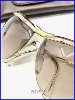 Lunette Soleil Vintage Eyeglasses Sunglasses Sol Amor Motard Orma 1000 Gold