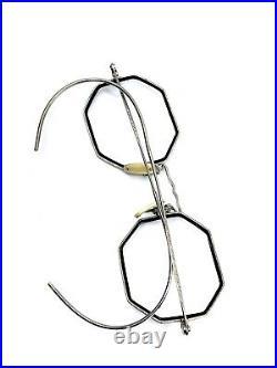 Lunette Vintage Eyeglasses Ao American Optical Cortland Rare Old Ancienne USA