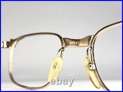 Lunette Vintage Eyeglasses Gold Filled Frame Old Ancienne Amor Or Ital Suisse