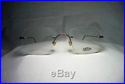 Lunettes Caco eyeglasses Titanium rimless round oval frames men's women's vintag