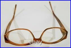 MICHEL HENAU Ronomat Brown 685 Eyeglass Frames 5615 -135 VTG MADE IN FRANCE