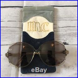 Marie Claire MC Paris Plastic Women FRAME Retro Vintage Butterfly Glasses Tinted