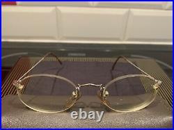 Marius Morel 8561 14K Gold Filled Round Rare Vintage Eyeglasses