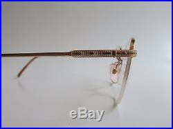 Marius Morel 8727 Gold Filled 14K Round Rare Vintage Eyeglasses Made in France