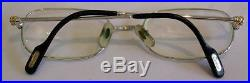 Mens Cartier Honore Eyeglass Sunglass Frame Excellent Pre-owned Estate