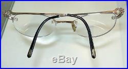 Mens Cartier Rimless Eyeglass Sunglass Frame Excellent Pre-owned Estate
