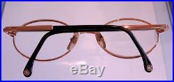 Mens Mont Blanc Gold Tone Eyeglass Sunglass Frame Pre-owned Estate Nice