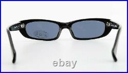 Mikli Par Mikli Sunglasses 7159 Col 101 Vintage Sunglasses Square Black 1990s