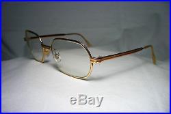Morel eyeglasses hexagonal oval gold filled frames men's women's unisex vintage