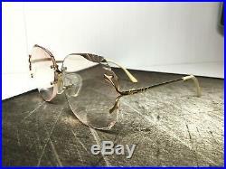 Multi-facets Vintage Gemini Gep 22kt Gold Frame France