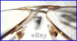 Must De Cartier Vintage Aviator Eyeglasses For Men/gold And Silver Frame/new