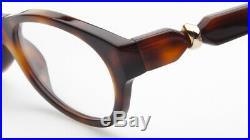 NEW Cartier PARIS VINTAGE TORTOISE EYEGLASSES GLASSES 51-18-140 B31mm France