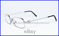 NEW O. S. Vintage Cartier Eyeglasses FRAME BROSSEE 50 mm PRESCRIPTION GLASSES MAN