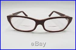 NICE Cartier Trinity Rx Eyeglasses Frames 5515-140 France Burgundy Rare A308