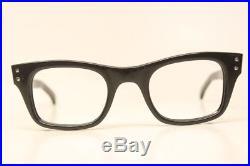 NOS Vintage Black Eyeglass Frames Frame France New Old Stock