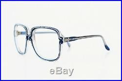 NOS vintage NINA RICCI Paris eyeglasses frame eyewear rhinestones glasses 70s