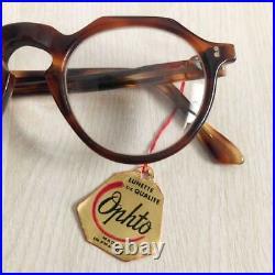 NOS with a tag Eyeglass Frame Crown Punt 1940s Made in France Vintage F/S Japan