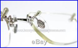 N. O. S. Vintage Cartier BUBINGA WOOD GLASANT eyeglasses FRAME PRESCRIPTION MAN