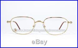 N. O. S. Vintage Cartier Eyeglasses FRAME RIM DEIMIOS PRESCRIPTION GLASSES MAN SET