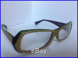 New ALAIN MIKLI AL 0945 0006 58mm Vintage Havana Women's Eyeglasses Frame