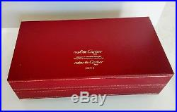 New CARTIER Eyewear Frame 22k Gold & Platinum Plated 55-15-130 Handmade France