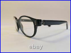 New Cartier Premiere Luxury Black Eyeglasses 47-19 Hand Made in France Very Rare