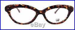 New Club LA 3501 Rectangular Cat's Eye French Eyeglasses Blond Havana Tortoise