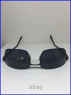 New FRED Lunettes Borneo C1 Sunglasses C. 101 Black Noir 60mm Made in France