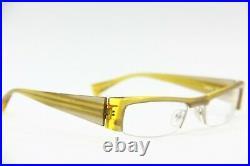 New Rare Vintage Alain Mikli Al 0650 16 Yellow Eyeglasses Authentic Rx 50-19