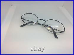 New Vintage 80's Karl Lagerfeld Round KL 4337 04 Made In France Eyeglasses Frame